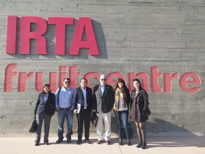 FUNIBER organiza da vosota de uma delegaçao do Peru às instituições agroalimentares de Barcelona