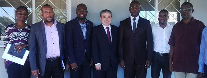 Presidente da FUNIBER visita a sede da Fundação em Moçambique