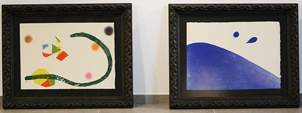 """""""El Canto del Sol"""" de Joan Miró em Santillana del Mar (Espanha)"""