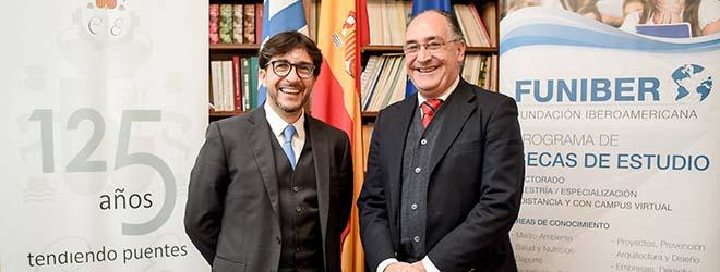 FUNIBER assina convênio de formação com a Câmara Oficial Espanhola de Comércio, Indústria e Navegação do Uruguai