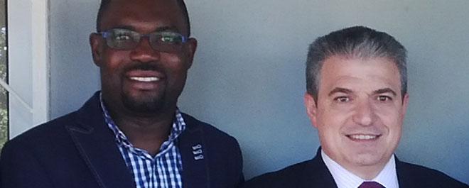 Diretor da FUNIBER Angola visita a sede da Fundação em Moçambique
