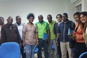 Alunos de Moçambique participam de conferência da FUNIBER em Beira