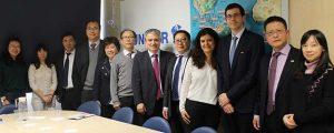 FUNIBER recebe representantes da Universidade de Zhejiang, uma das mais prestigiosas da China