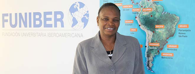 Representante da FUNIBER na República do Mali visita a sede da Fundação na Espanha
