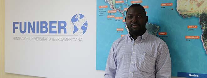 O delegado da FUNIBER na Guiné Equatorial visita a sede da Fundação na Espanha