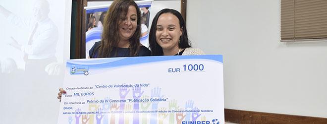 FUNIBER entrega prêmio do IV Concurso Publicação Solidária no III Encontro de Educação