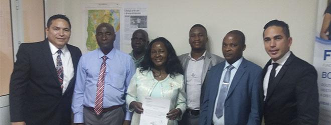 Alunos de doutorado defendem suas teses presencialmente em Moçambique