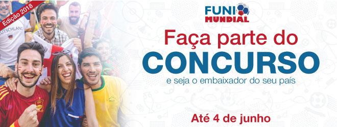 FUNIBER lança o Concurso FuniMundial 2018