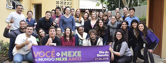 """FUNIBER Brasil participa do """"Dia do Desafio"""""""