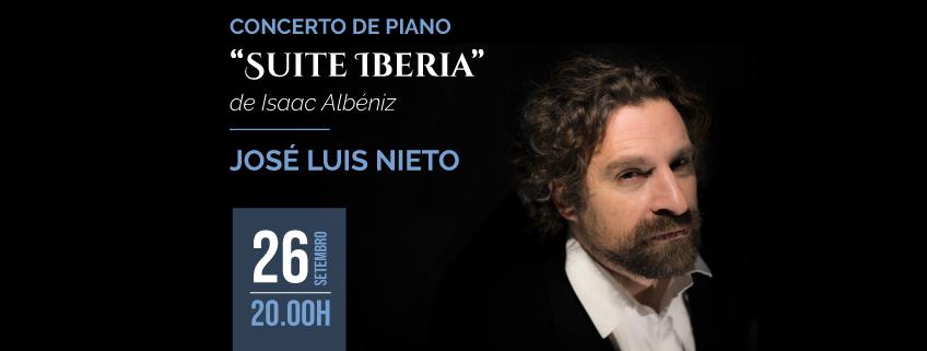 José Luis Nieto inicia sua nova turnê pela América do Sul no Brasil