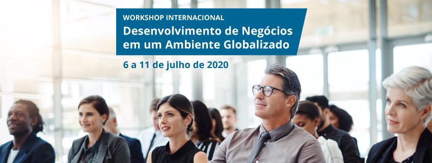 """FUNIBER e UNEATLANTICO convidam para o Workshop Internacional """"Desenvolvimento de Negócios em um Ambiente Globalizado"""""""