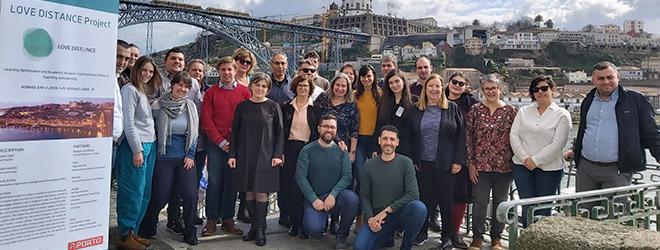 FUNIBER participa de reunião para estabelecer as ações a serem realizadas no projeto LOVEDISTANCE