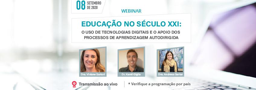 Webinar sobre uso das TIC nos processos de aprendizagem autodirigida organizado pela FUNIBER