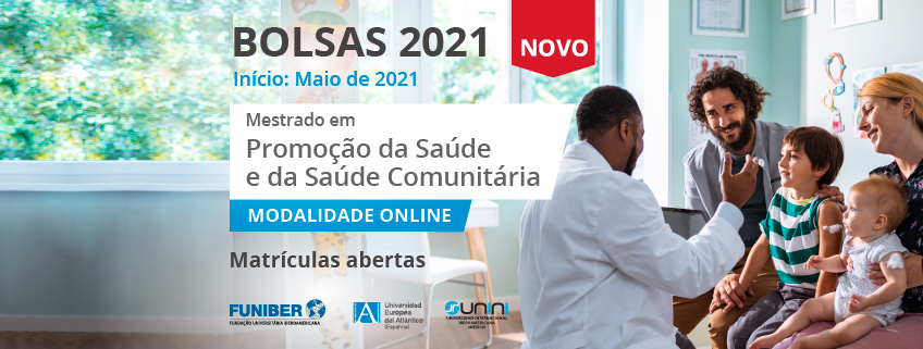 FUNIBER lança chamada para bolsas de estudo para o Mestrado em Promoção da Saúde e da Saúde Comunitária