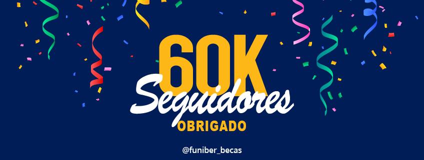 A conta Instagram da FUNIBER atinge 60.000 seguidores