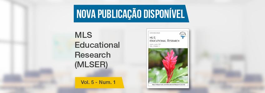 Revista MLS Educational Research, patrocinada pela FUNIBER, publica nova edição