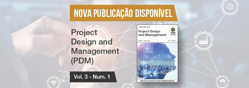 Nova edição da revista Project Design and Management, patrocinada pela FUNIBER