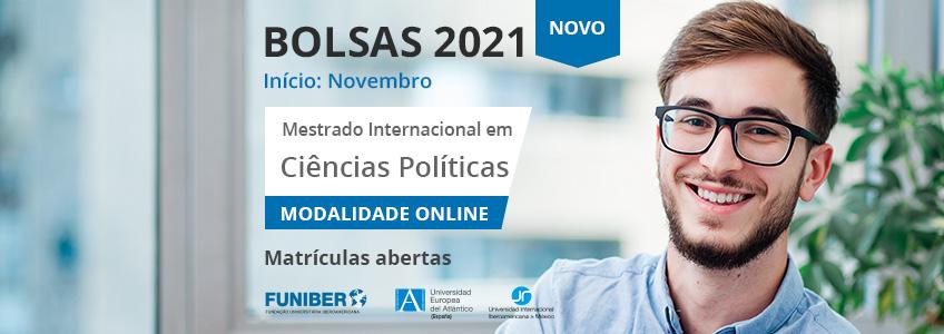 FUNIBER lança programa de bolsas de estudo para o Mestrado Internacional em Ciências Políticas